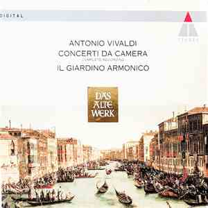Antonio Vivaldi, Il Giardino Armonico - Concerti Da Camera (Complete Recording) download mp3 flac