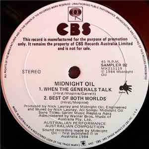 Midnight Oil - When The Generals Talk download mp3 flac