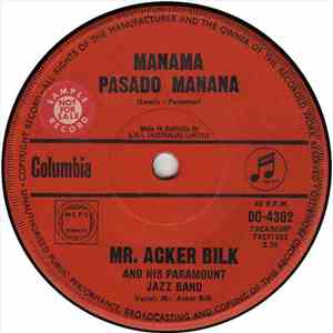 Mr. Acker Bilk And His Paramount Jazz Band - Manama Pasado Manana download free